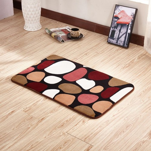 Comfortable Stone Carpet Bathroom Mat Mat in the Toilet Bath Mats Carpet Tapis Salle de Bain