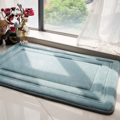 Thicken Bathroom Rug Floor Pad Modern Non slip Bath Mat Mechanical