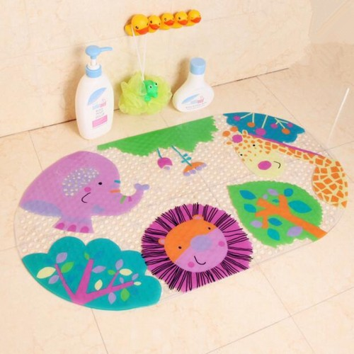 hot selling Bath mats cartoon shell bathroom suction cup for baby and child mats bathtub mat