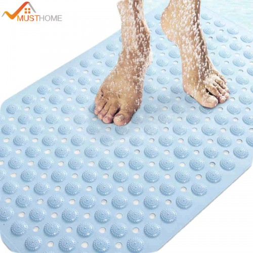 massage skid bath mat with suction cups