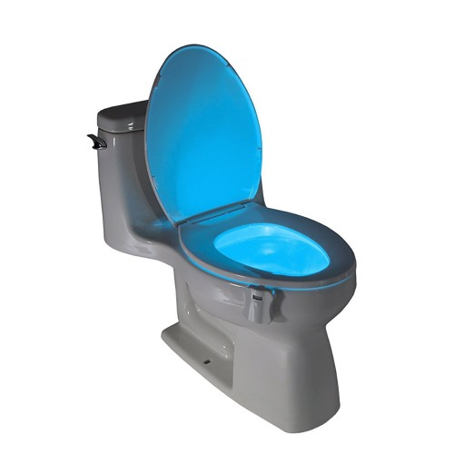 LED Toilet Light Sensor Motion Activated Glow Toilet Bowl Light Toilet Seat Night light Inside Bathroom