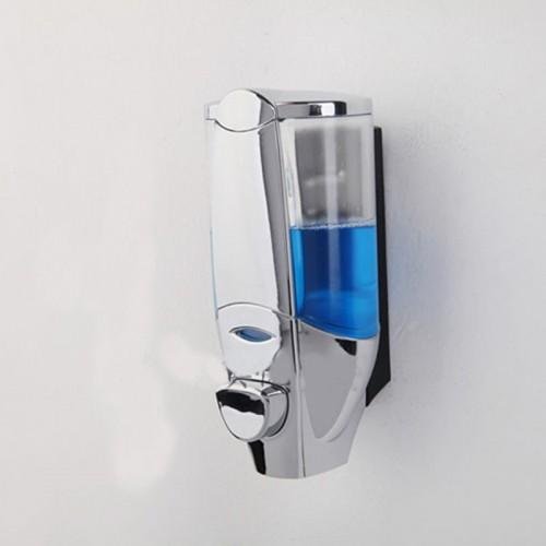 New ABS Wall Mounted Touch Soap Dispenser Sanitizer Washroom Shower Shampoo Dispenser bottle bathroom accessories 450ml