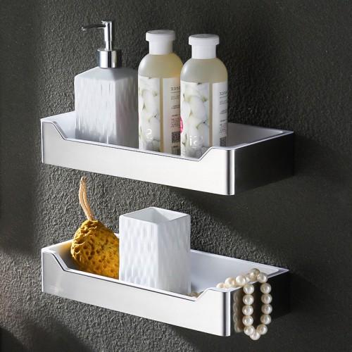 Stainless steel shower room bathroom wall shelf corner shelf bathroom basket for Stainless steel bathroom shower shelves