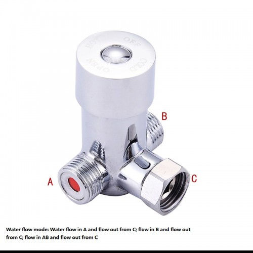 Thermostatic Mixing Valve for cold hot water Faucet valve cartidge