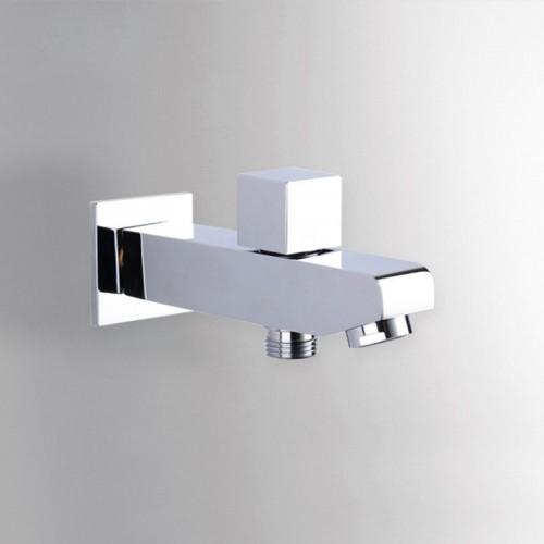 Wall Mounted Brass Free Shipping Bath Shower Concealed Install Tub Spout Filler with Diverter Free Shipping