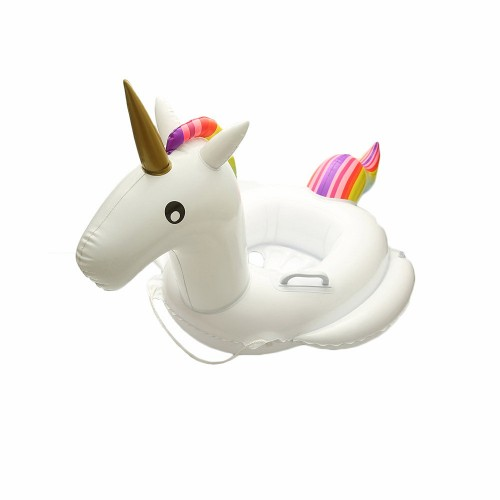Baby Swimming Float baby Seat Float Inflatable Unicorn Pool Float Baby Summer Water Fun Pool Toy
