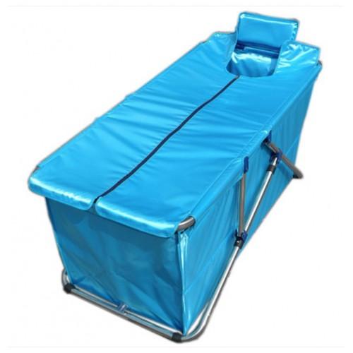 Folding Bathtub Inflatable Tub Handmade Bath Barrel Adult Thicker Bath Bucket