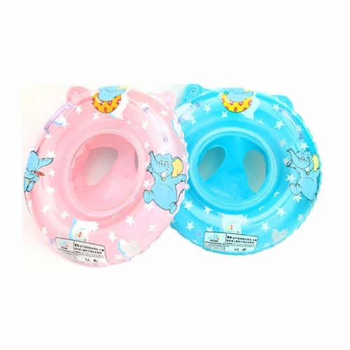 New Born Infant Inflatable Swimming Neck Circle Baby Swim Ring Float Ring Safety Double