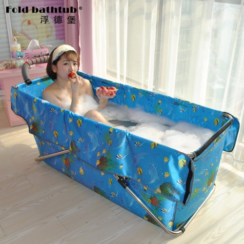Removable Folding Bathtub Inflatable Tub Easy to operate Easy to expand