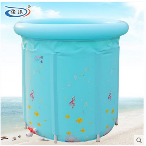 Water Thickening Folding Tub Adult Bathtub Inflatable Bath Bucket Baby Swimming Pool