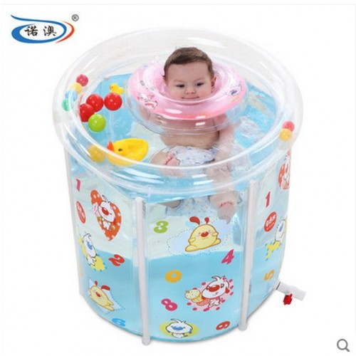 Water Thickening Folding Tub Adult Inflatable Bathtub Bath Bucket Baby Swimming Pool