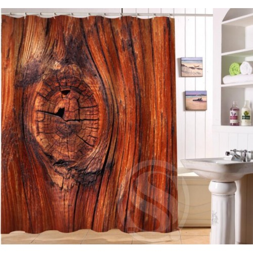 Old Wood Personalized Custom Shower Curtain Bath Curtain Waterproof More Size Sq0422 Lqo47