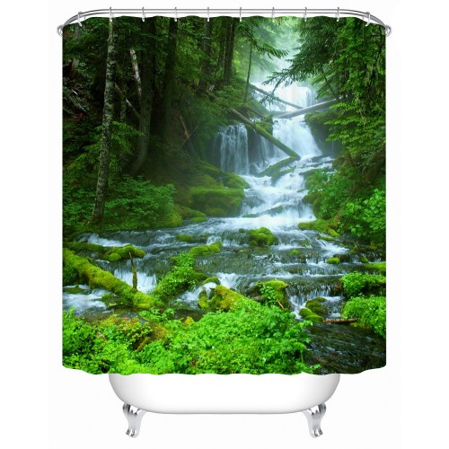 Shower Curtains Bathroom Curtain Tree High Quality and Practical Household Items Fashion Waterproofing Accessories Y 006