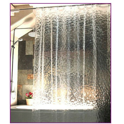 shower curtain bath curtain thicken 3D effect water proof water cube shower