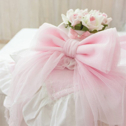 bowknot curtain tieback beautiful decoration curtain strap sweet bow with pin home textile gift