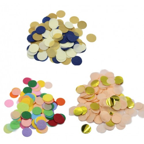 5000pieces bag Multicolor Tissue Paper Party Round Cut Confetti 1st Birthday Decor Wedding Table Scatter