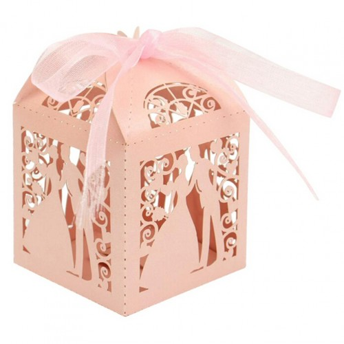 Candy Holders Lover Bride Groom Shape Wedding Candy Box