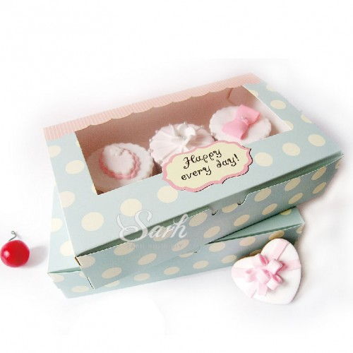 Cookie Package The Happy Everyday Spot Macarons Box Cake Box Chocolate Muffin