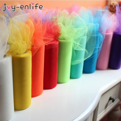 Multicolor Tulle Roll Girls Tutu Skirt Gift Wedding Decor