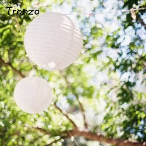 Tronzo Paper Lantern White Chinese Lantern Wedding Christmas Birthday Party