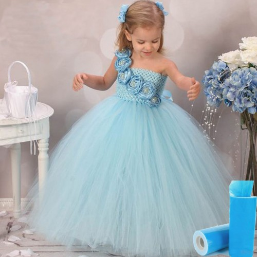 Tulle Roll Girls Tutu Skirt Gift Wedding Party Decor Frozen Halloween Kids Queen