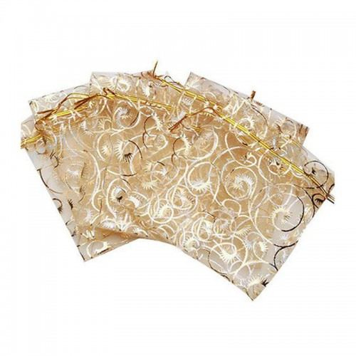 Wedding Christmas Gift Pouches Bag Organza Bags Jewelry Packaging bags Wedding Event Party Decoration Supplies