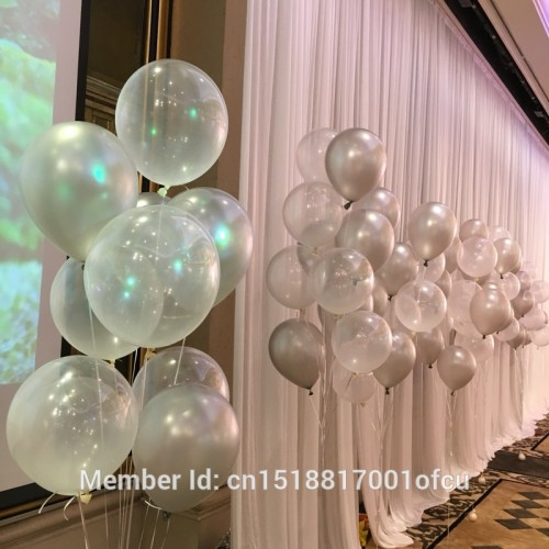 transparent balloon round clear latex balloon birthday wedding party decoration