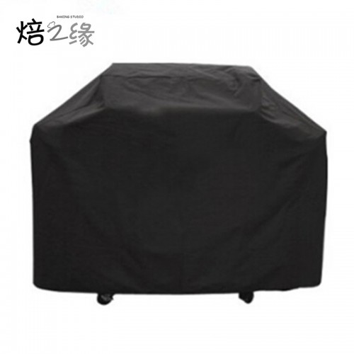 Black Waterproof BBQ Grill Barbeque Cover Outdoor Rain Grill Barbacoa