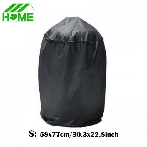 Black Waterproof BBQ Grill Dome Cover Outdoor Rain Barbacoa Anti Dust Protector