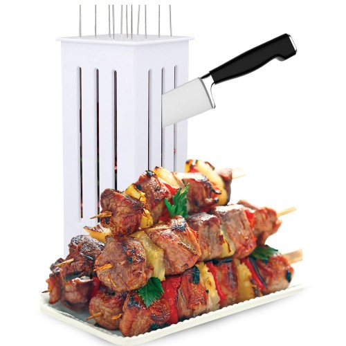 Easy Barbecue Kebab Maker Meat Machine Grill Accessories Tools Set