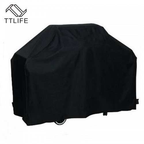 Waterproof BBQ Cover Dustproof Polyester Fibre Cloth Large Cover Gas Barbecue Grill Cover