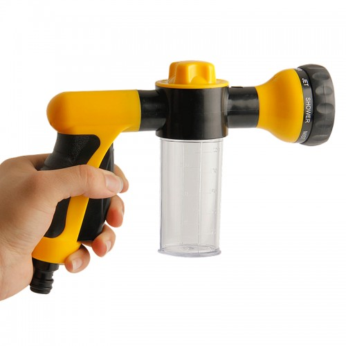 Multifunction Foam Water Gun High Pressure Car Washer Adjustable Water Gun Spray Foamer Nozzle