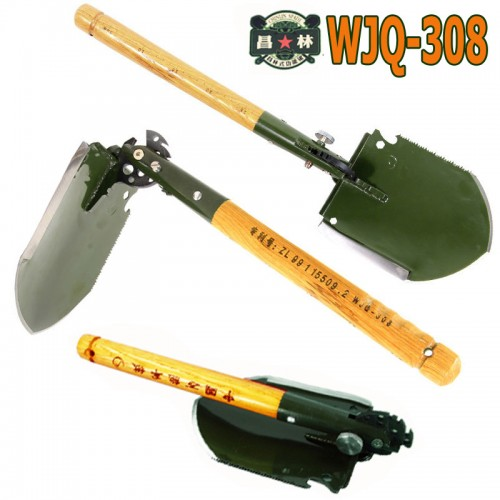 chinese military shovel folding portable shovel camping shovels hunting edc outdoor survival