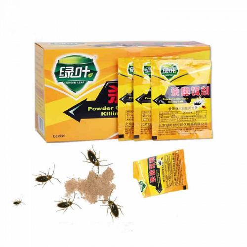 5pcs powerful eco friendly Effective Killing Bait Cockroach Control Cockroach Killer repellent Powder for kitchen Pest