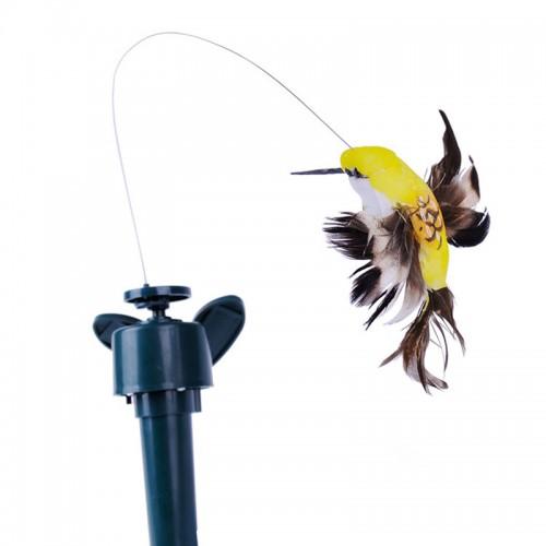 Creative Vibration Solar Powered Dancing Flying Butterfly Garden Wall Yard Decor Supplies