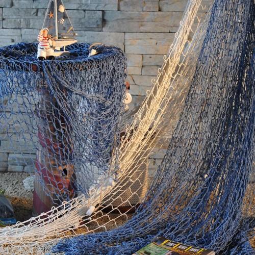 Fashion Nautical Fishing Net Seaside Wall Beach Party Sea Shells Home Garden Decoration