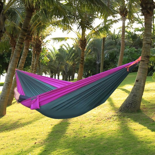 Assorted Color Parachute Nylon Strong Rope Parachute Nylon Fabric Hammock for Outdoor