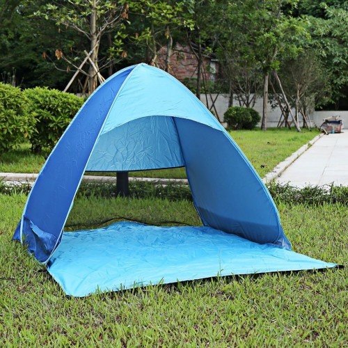 Colors Portable Person Outdoor Automatic Foldable Sun Shelter UV Protection