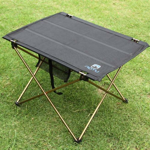 Outdoor Folding Table Camping Aluminium Alloy Picnic Table Waterproof Ultra light Durable