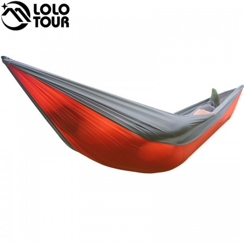 Person Parachute Hammock Portable Army Survival Hammocks Travel Hamaca Flyknit Hamak Nylon