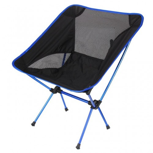 Super light Breathable Backrest Folding Chair Portable Beach Sunbath Picnic Barbecue Fishing Stool Load