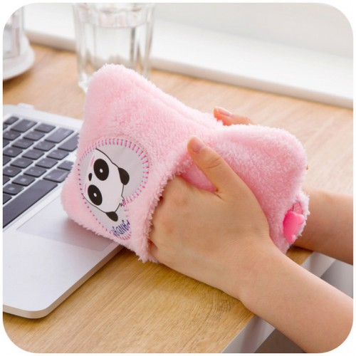 Cartoon Explosion double intervene large hot water bottle filled plumbing handbags Hand