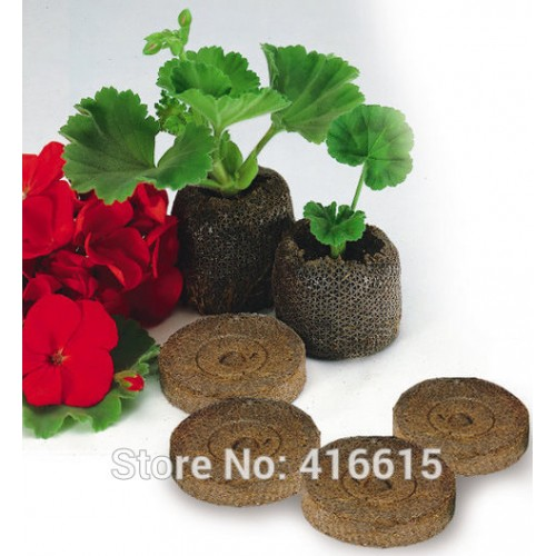 Jiffy Peat Pellets and Coco Pellets Seed Starting Plugs Seeds Starter Pallet Seedling