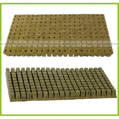 grow plug one pack Grodan Starter Plugs Cubes rockwool hydroponic grow media Propagation