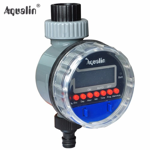 Automatic Electronic Display Home Ball Valve Watering Timer Irrigation Controller System