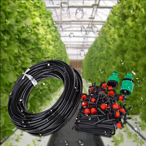 Automatic Micro Drip Irrigation System Plant Watering Garden With Adjustable