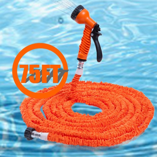 Modes Extensible Magic Flexible Soft Garden Water Hose 25FT 50FT 75FT 100FT