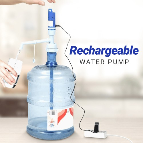 Portable Electric Rechargeable Water Pump Convenient Drinking Water Pump Dispenser