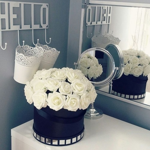 25 Heads 8CM New Colorful Artificial PE Foam Rose Flowers Bride Bouquet Home Wedding Decor Scrapbooking