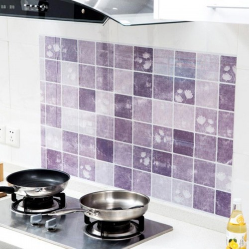 100 60cm Kitchen Wall Sticker Self Adhesive Stove Fat Waterproof Anti Oil Stickers